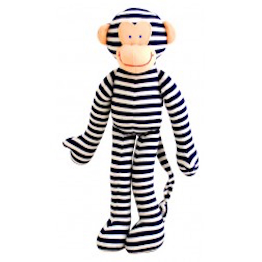navy monkey rattle alimrose