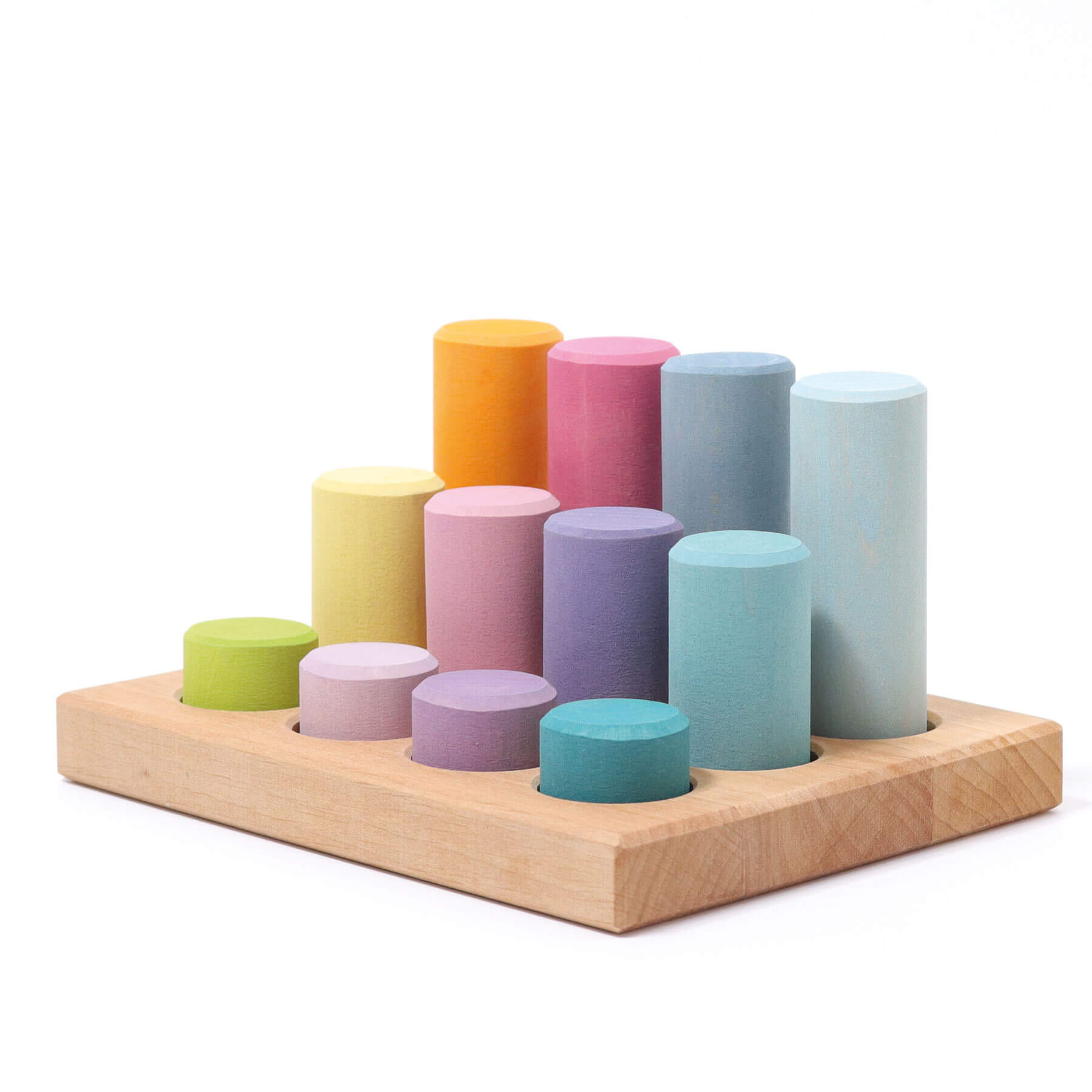 pastel roller stacking game