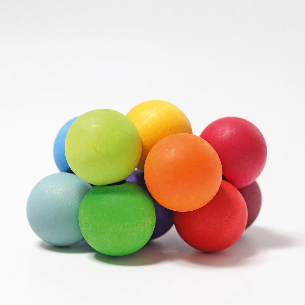 Grimm's Beads Grasper Rainbow
