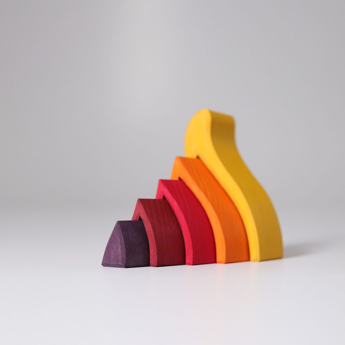 Grimms Small fire stacking pieces