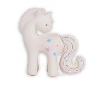 unicorn teether rubber