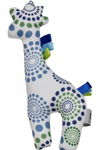blue spiral giraffe 1