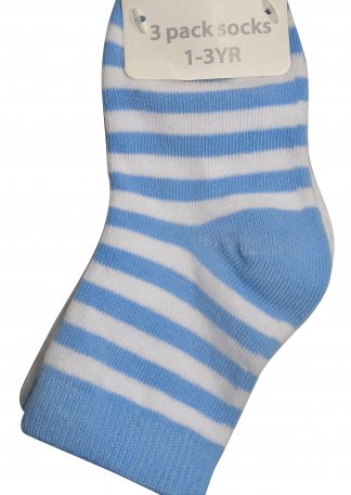blue stripe socks 1