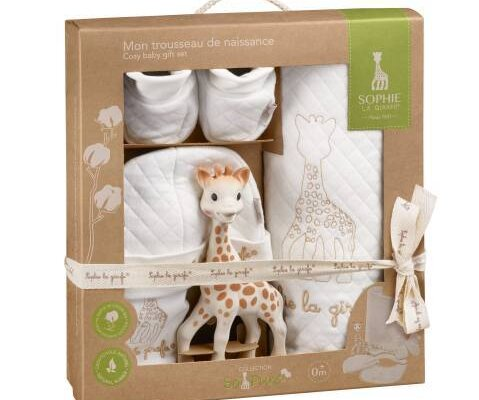 sophie birth gift set