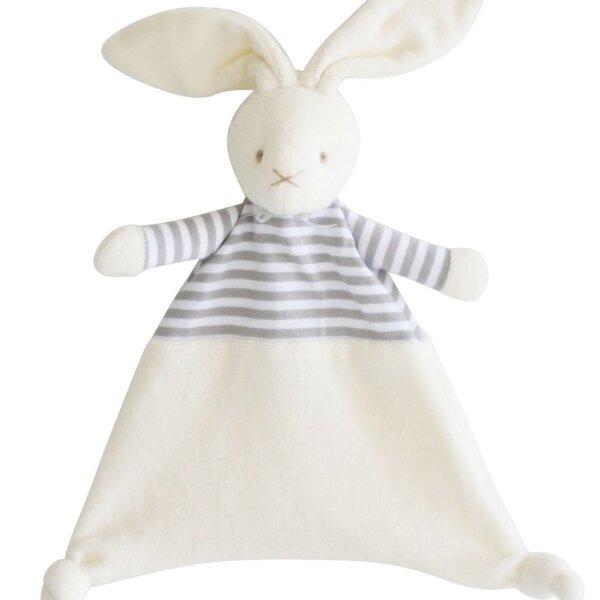 grey bunny comforter alimrose