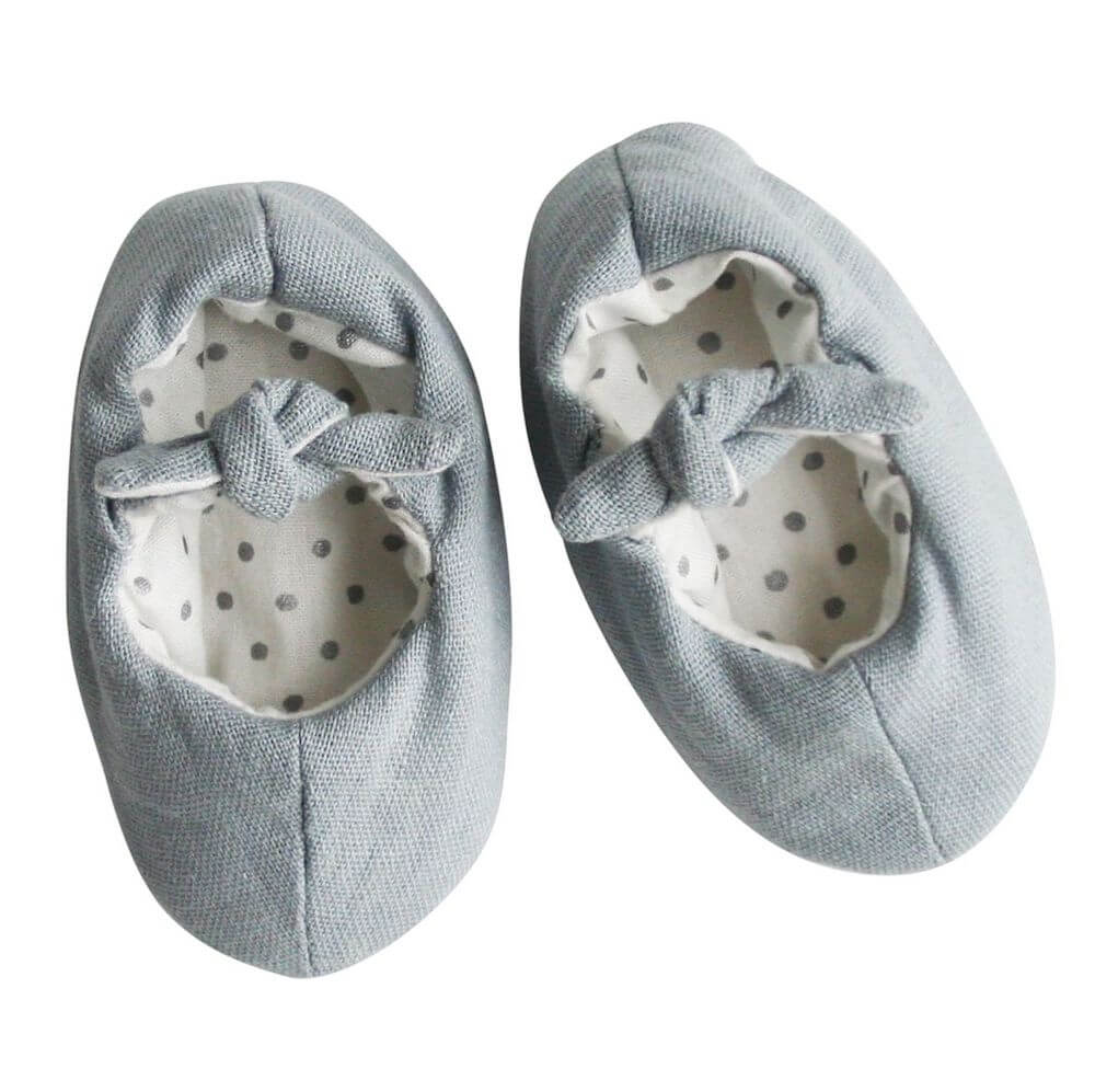 grey linen slippers alimrose