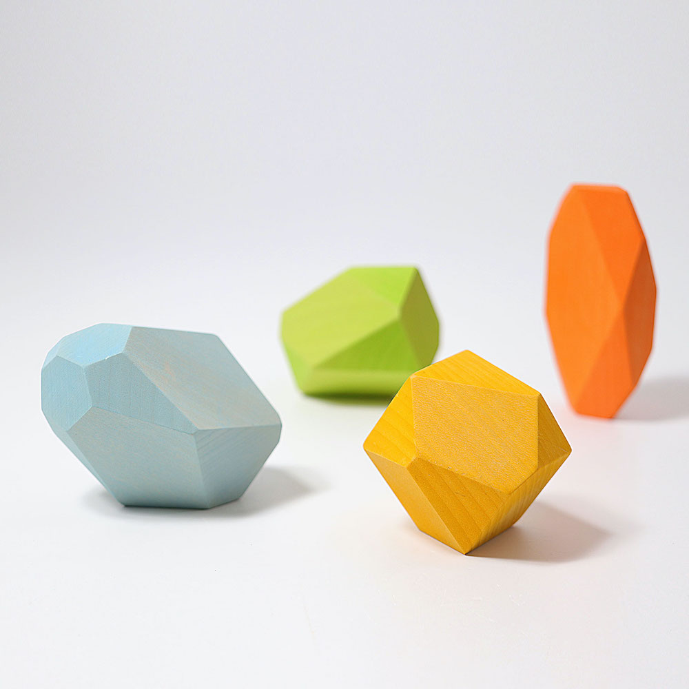 gems coloured blocks Grimms