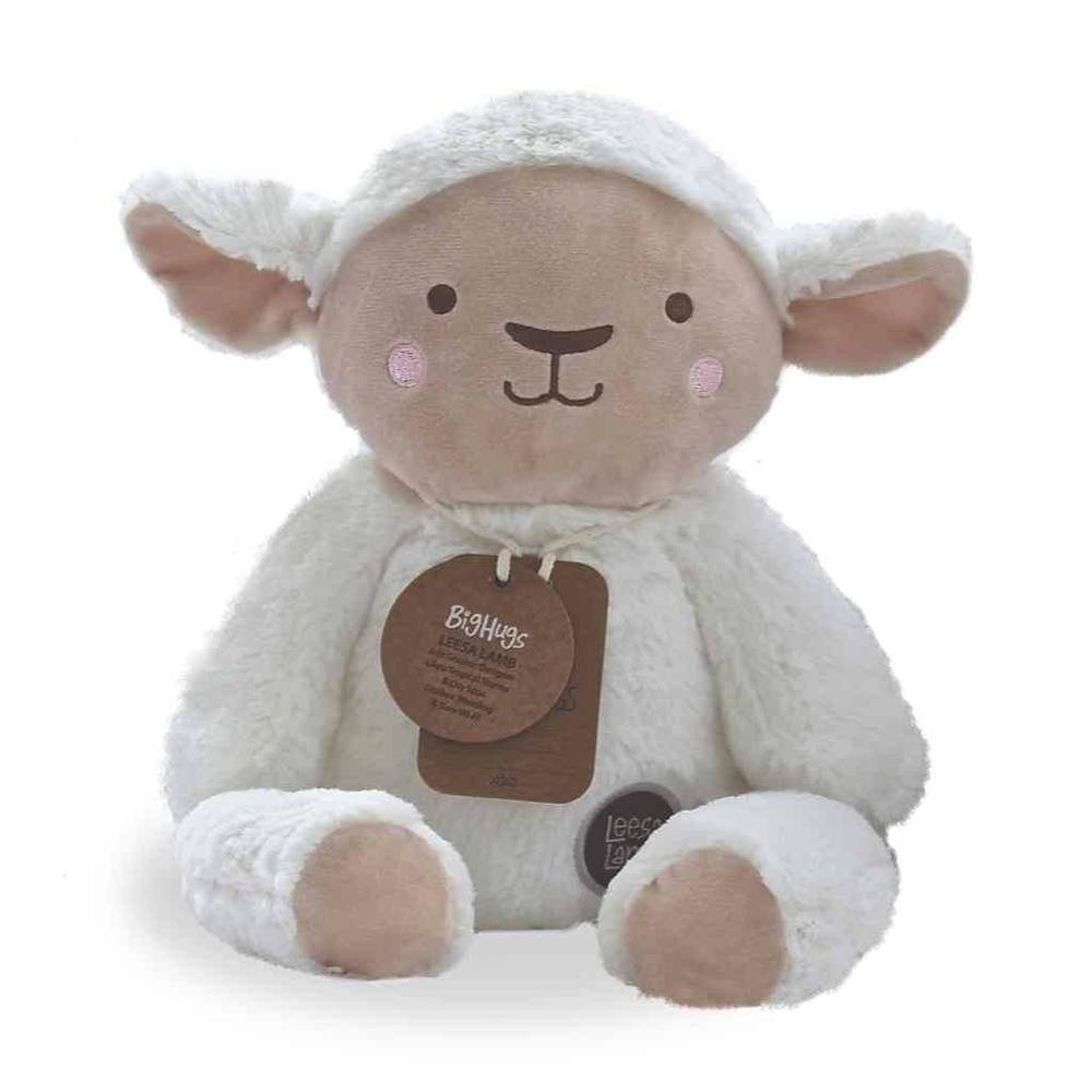 plush toy leesa lamb huggie ob designs