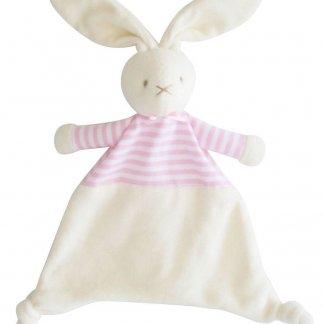 pink bunny comforter alimrose
