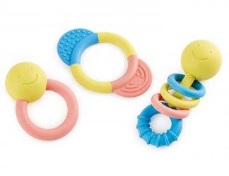rattle teether set