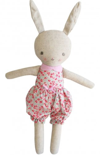 rosie linen bunny doll alimrose