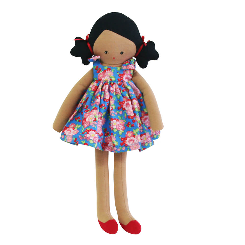 willow doll alimrose 32cm blue