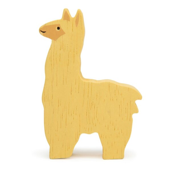 alpaca tender leaf animal