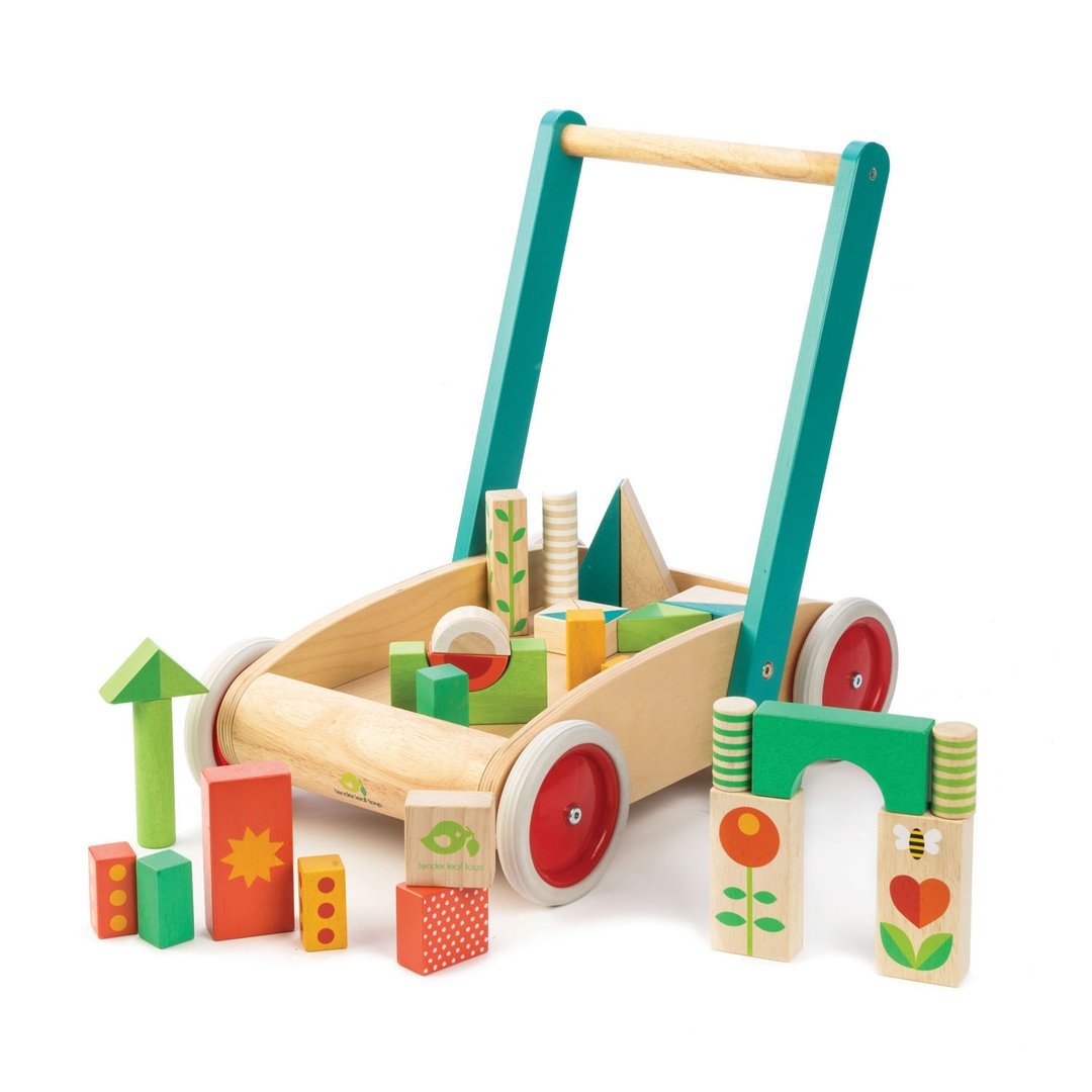 baby block walker tender leaf toys