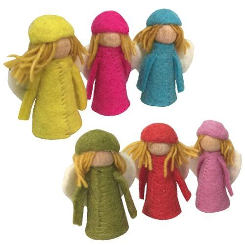 bright-elves-finger-puppets wool felt