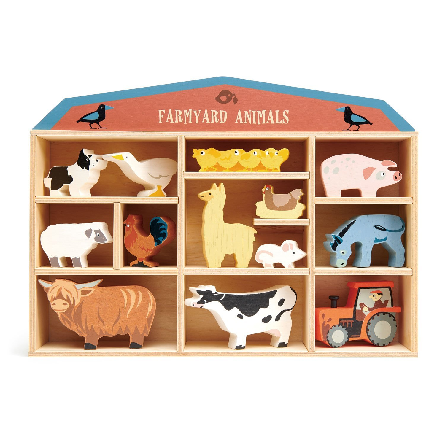 farmyard animal set tenderleaf