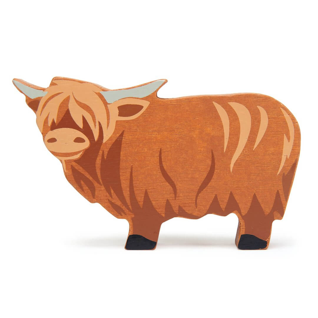 highland cow tenderleaf toys