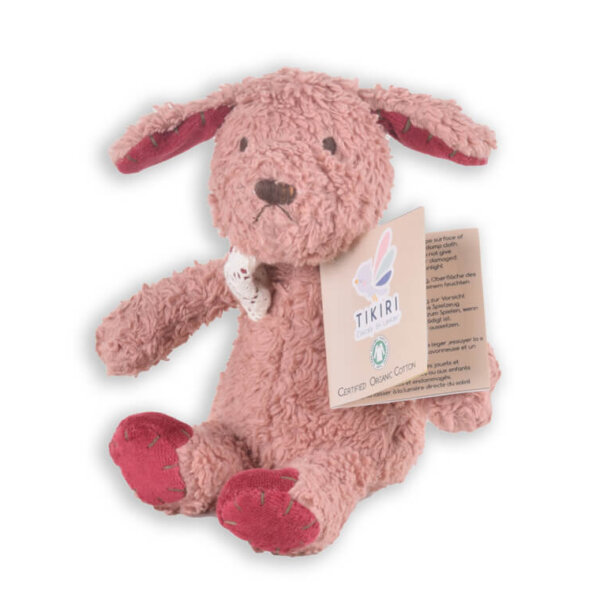 tikiri organic puppy soft toy