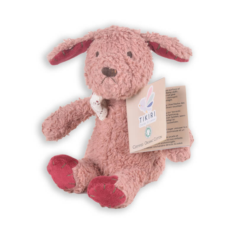 tikiri organic puppy soft toy