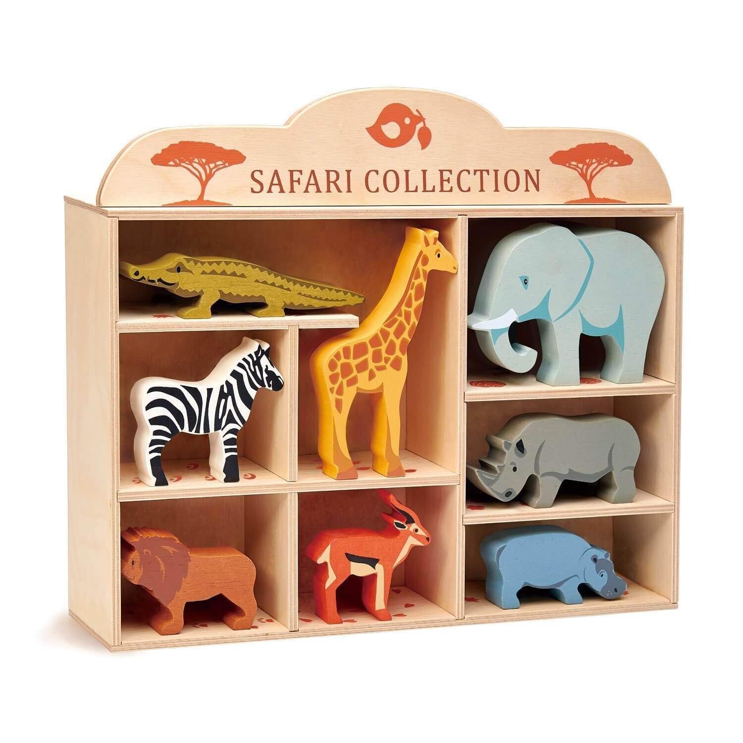 safari collection in stand tenderleaf toys