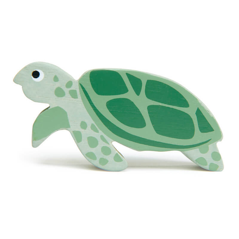 tender leaf toys wooden turtle