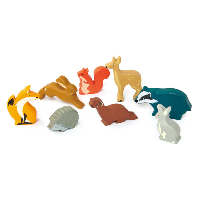 woodland animals tenderleaf toys