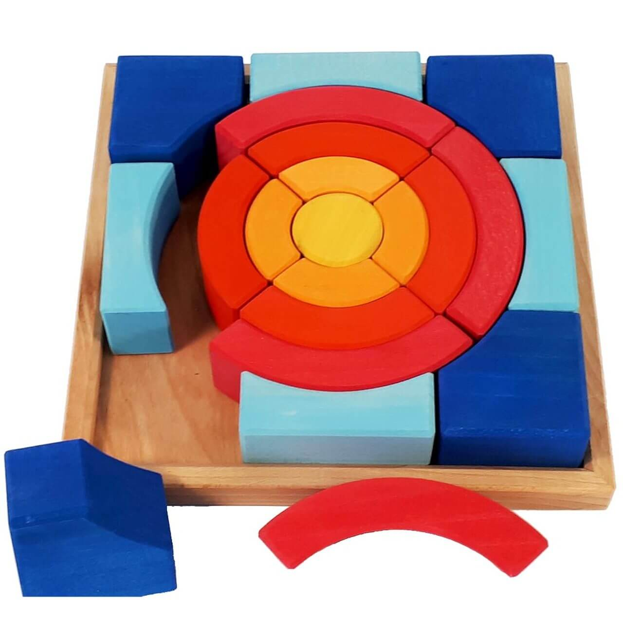 bauspiel-circle-puzzle-wooden block set