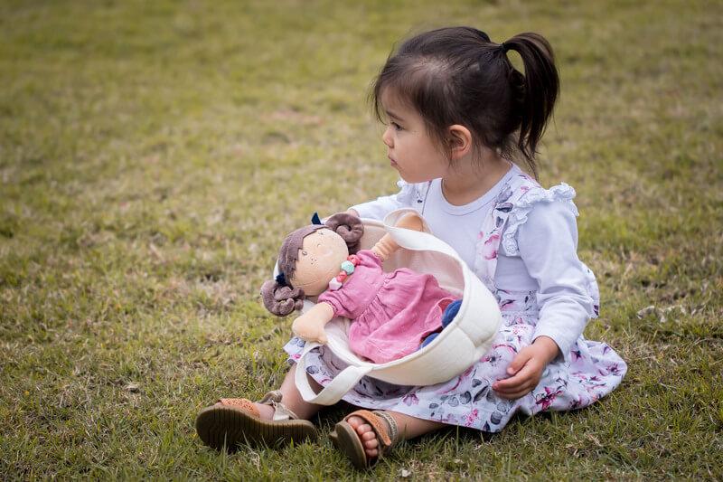 bonikka organic baby doll carrier