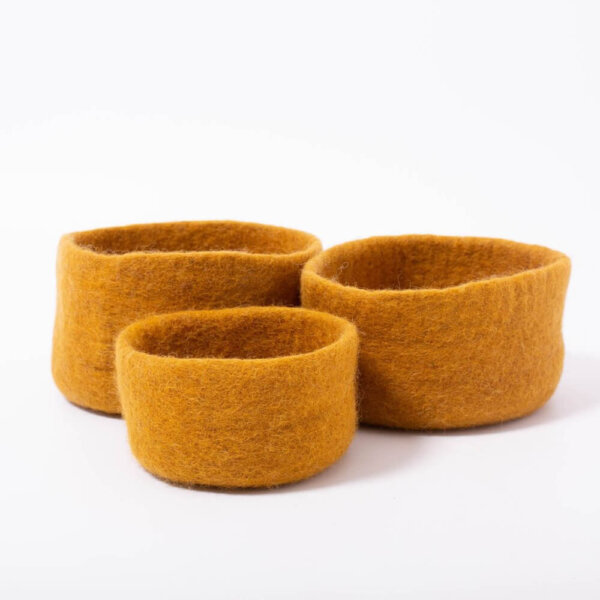 earth nested papoose bowls