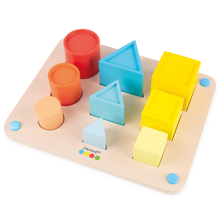 3D sorting and nesting board shape tray janod