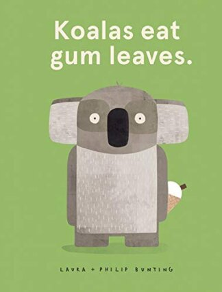 koalas eat gumleaves cover
