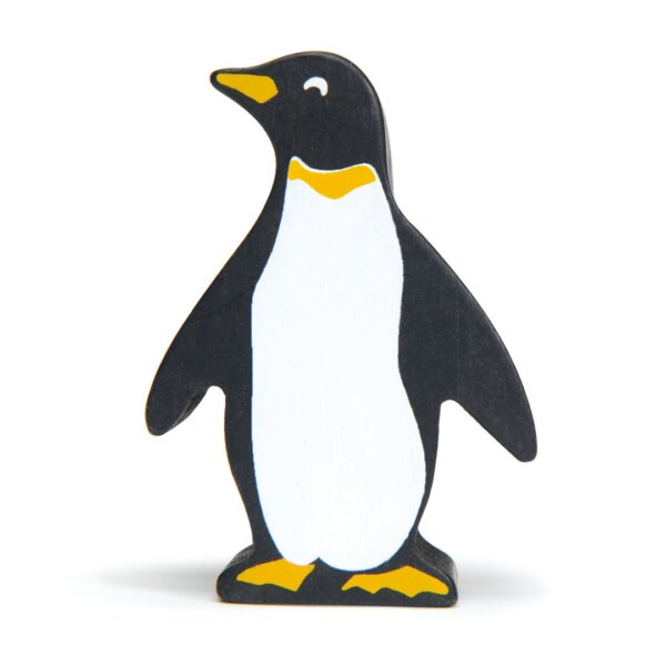 penguin wooden animal coastal creatures tender leaf toys