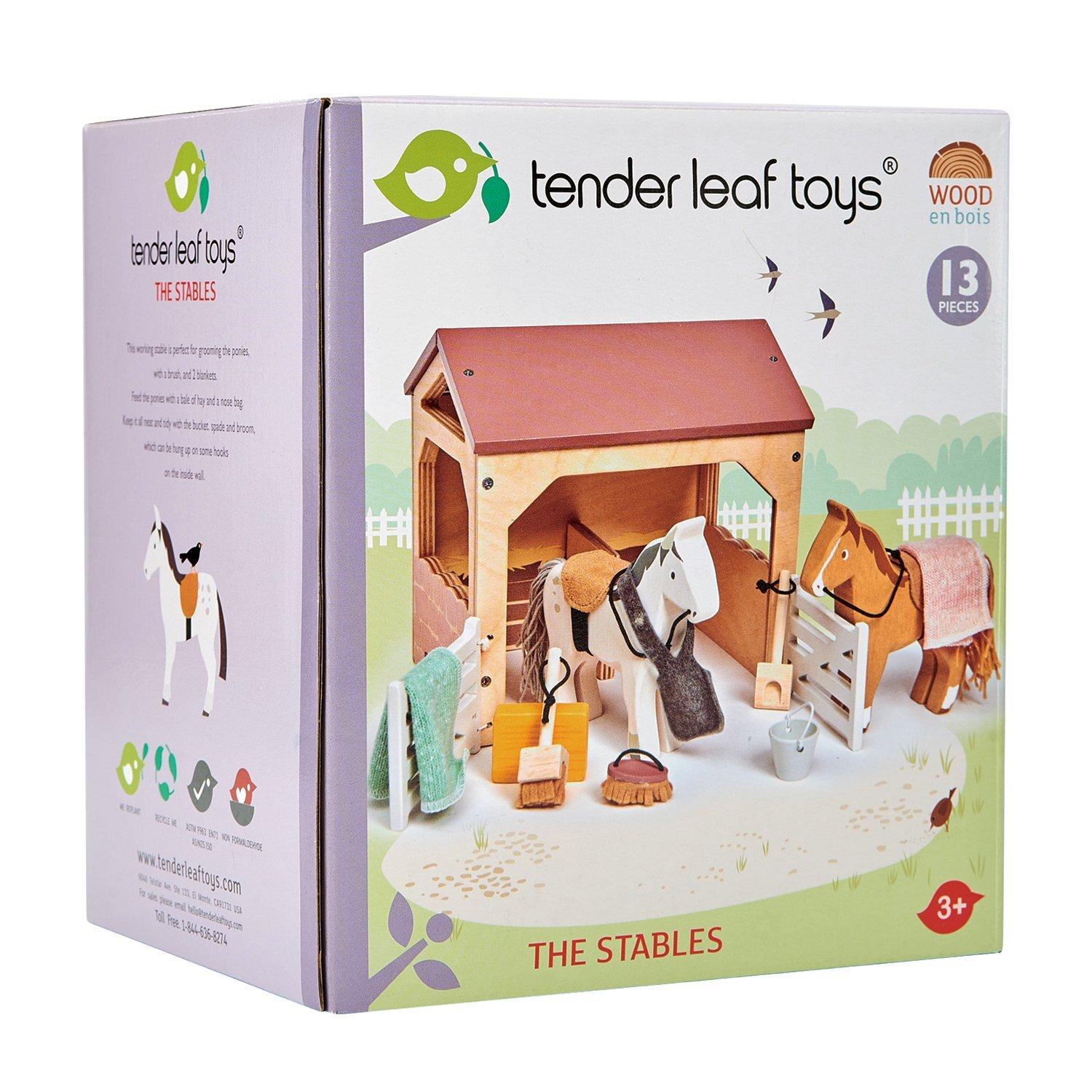 tender leaf toys stables in box