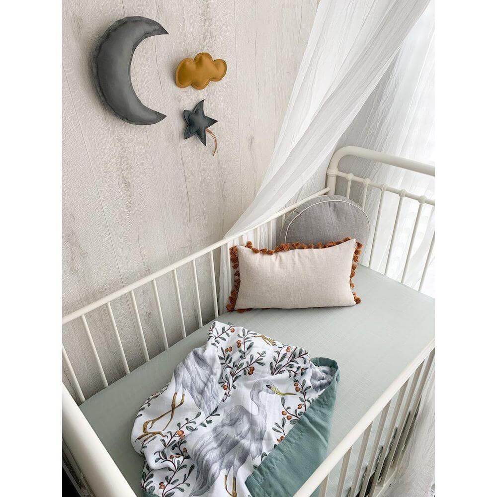 crane reversible cot blanket pop ya tot