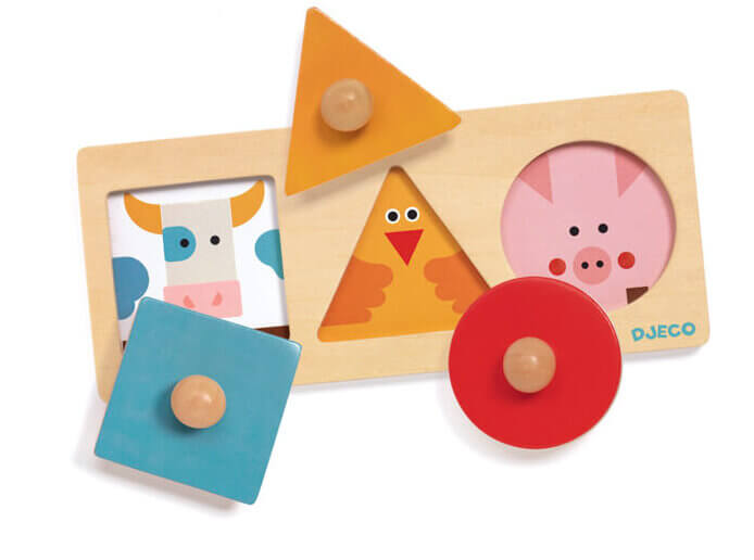 forma basic shapes puzzle by basic