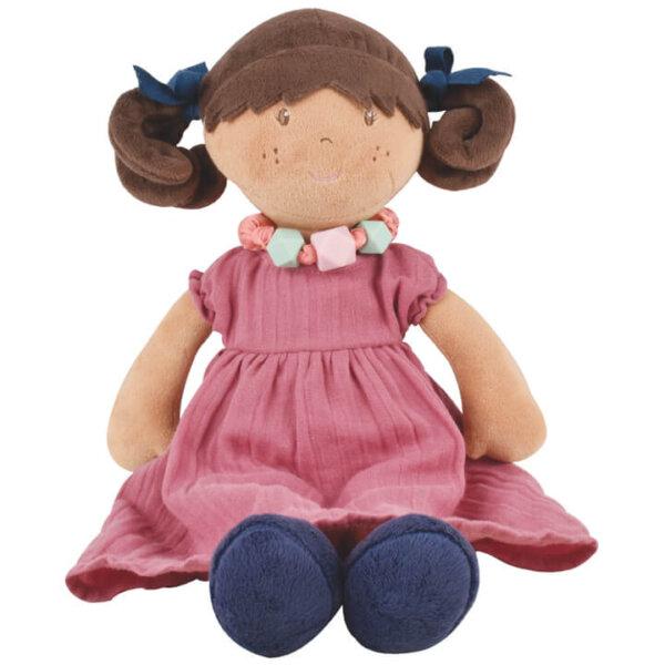 bonikka mandy brunette doll with bracelet