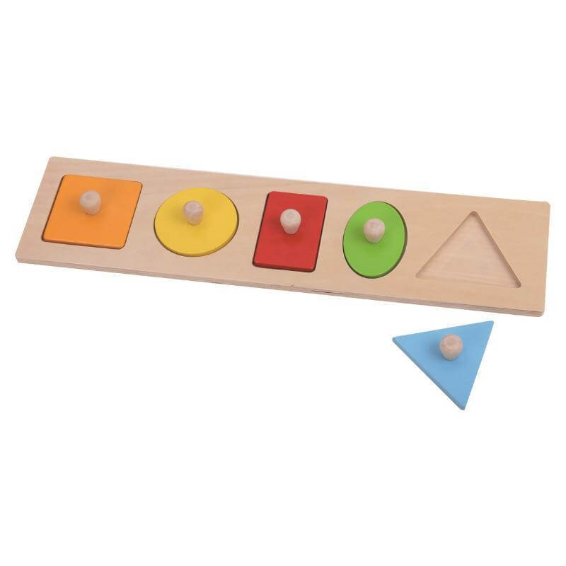 geometry shapes puzzle toddler montessori puzzles