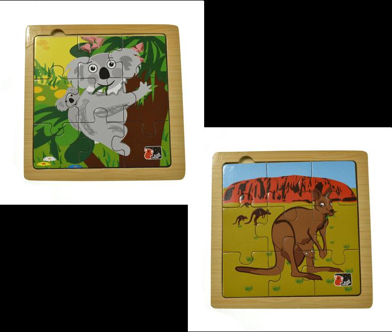 koalaand kangaroo puzzle