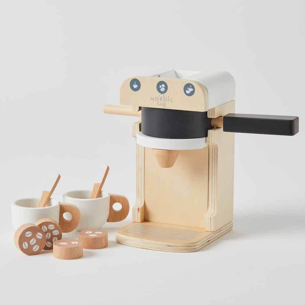 wood coffee machine NK
